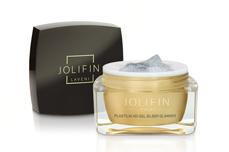 Jolifin LAVENI Plastilin 4D Gel - silber Glimmer 5ml