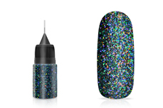 Jolifin LAVENI Diamond Dust - black multicolor