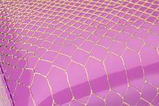 Jolifin Handauflage Schlangenmuster pink
