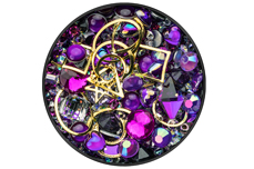 Jolifin LAVENI Luxury Nail-Art Mix - purple