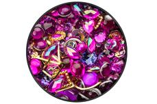 Jolifin LAVENI Luxury Nail-Art Mix - magenta