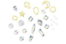 Jolifin LAVENI Luxury Nail-Art Mix - opal white