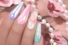 Jolifin LAVENI Aurora Mirror Pigment - pastell-pink