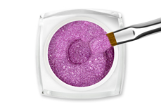 Jolifin LAVENI Farbgel - magenta Glitter 5ml