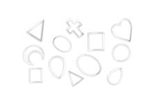 Jolifin Einleger Display XL - silber