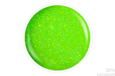 Jolifin Farbgel neon-lime Glitter 5ml