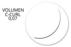 Jolifin Lashes - MixBox - Volumen D-Curl 0,07