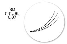 Jolifin Lashes - MixBox - 3D Wimpernfächer C-Curl 0,07