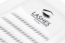 Jolifin Lashes - MixBox - 4D Wimpernfächer C-Curl 0,07