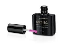 Jolifin LAVENI Shellac - Cat-Eye lavender 12ml