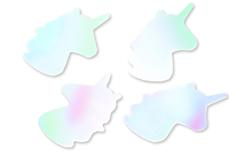 Jolifin Unicorn Glittereinleger - aurora white