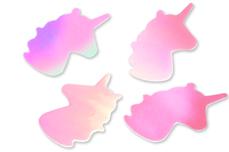 Jolifin Unicorn Glittereinleger - aurora pink