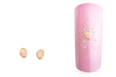 Jolifin Overlay - rosa Perlmutt oval