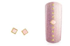 Jolifin Overlay - rosa Perlmutt eckig
