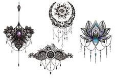 Jolifin Black Elegance Tattoo Nr. 37
