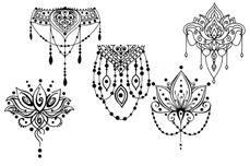 Jolifin Black Elegance Tattoo Nr. 38