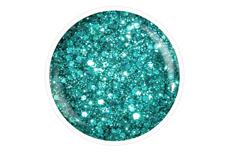Farbgel türkis Glittermix 5ml