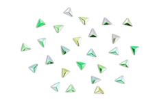 Jolifin Einleger - Triangle silver-green