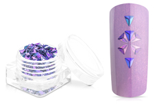 Jolifin Einleger - Triangle lilac-blue