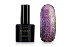 Jolifin LAVENI Shellac - FlipFlop-Effect pink-gold 12ml
