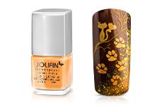 Jolifin Stamping-Lack - apricot-orange 12ml