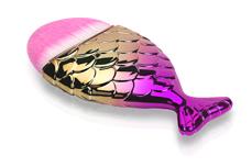 Jolifin Staubpinsel - big mermaid gold-pink