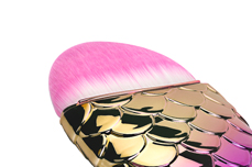 Jolifin Staubpinsel - big mermaid gold-pink