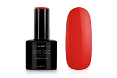 Jolifin LAVENI Shellac - cornpoppy red 12ml