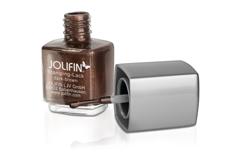 Jolifin Stamping-Lack - dark-brown 12ml