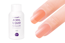 Jolifin Color Acryl-Liquid - red/peach 50ml