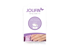 Jolifin 120er Tipbox mini manicure - natural