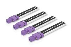 Jolifin LAVENI Dual LED-/UVA-Röhre 9 Watt 4 Stk - Infinity