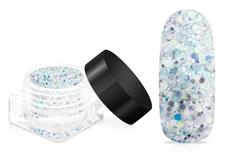 Jolifin LAVENI Crystal Glitter - frozen blue