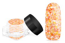 Jolifin LAVENI Crystal Glitter - juicy orange