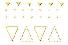 Jolifin LAVENI XL Sticker - Gold 9