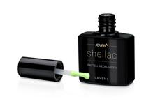 Jolifin LAVENI Shellac - pastell neon-green 12ml