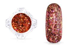 Jolifin LAVENI Mirror-Flakes - rosy champagne