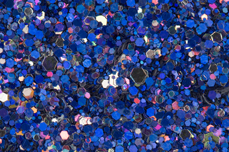 Jolifin LAVENI Luxury Glitter - deep blue