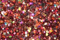 Jolifin LAVENI Luxury Glitter - rosy copper