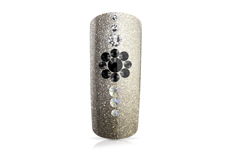 Jolifin LAVENI Strass-Display - black & white