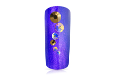 Jolifin LAVENI Strass Display - white & gold