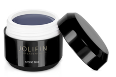 Jolifin LAVENI Farbgel - stone blue 5ml