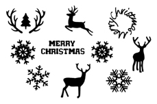 Jolifin Christmas Sticker Nr. 1