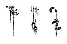 Jolifin Black Elegance Tattoo Nr. 41