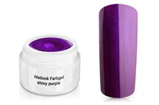 Wetlook Farbgel shiny purple 5ml