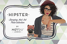 MoYou-London Schablone Hipster Collection 24