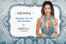 MoYou-London Schablone Henna Collection 09