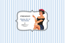 MoYou-London Schablone Frenchy Collection 15