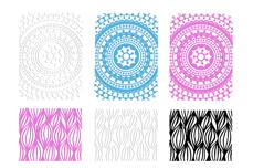 Jolifin LAVENI XL Sticker Wrap - Nr. 6 color