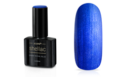Jolifin LAVENI Shellac - shiny royal blue 12ml